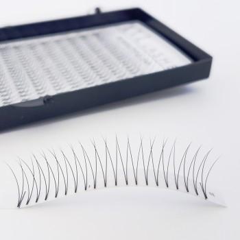 V-Lashes – 2D – 320 Stk. knotenfrei, softig weich und leicht