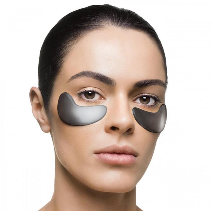 Aktivkohle Hydrogel Augenpads, 5 Paar