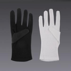 Baumwollhandschuhe - in weiss und schwarz