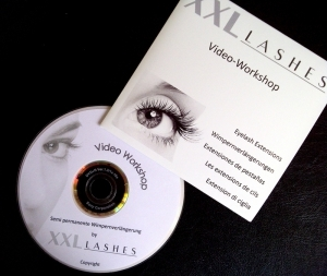 Trainings-DVD - Die Kunst der Wimpernapplikation