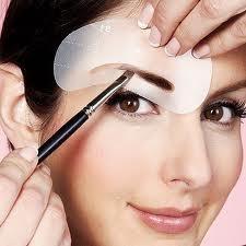 Semi permanentes Augenbrauen-Makeup