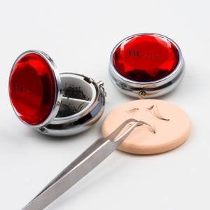 300 Flare Lashes / Push up Lashes in einer Schmuckdose in 3 Längen: 7, 9 +11 mm