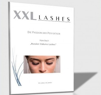 "XXL Lashes Trainings-Handbuch ""Russische Volumen Technik"""