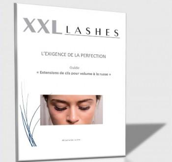 """XXL Lashes Trainings-Handbuch """"Russische Volumen Technik"""" Französisch/pdf Datei"""