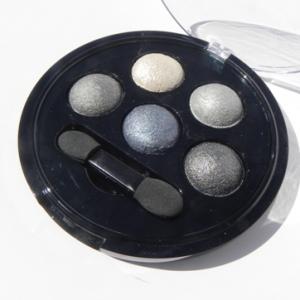 Mineral Baked Eyeshadow – Gepresster Lidschatten mit Mineralien - schwarz