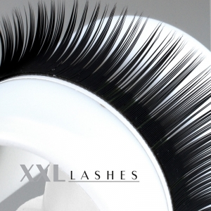 Mink Lashes - Silk Lashes | 0,15 mm dick | 9 mm lang | D-Curl