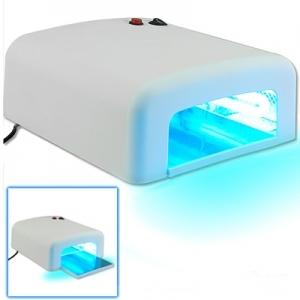 UV Lichthärtungsgerät zum Knallerpreis, 36 W, inkl. 4 Doppelröhren und Timer - Restposten wegen Lagerauflösung