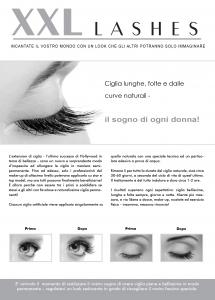 """100 Stk. Promotion Flyer A5 - """"Auge"""" - italienisch, mit eigener Adresse"""