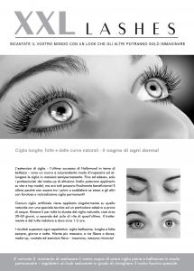 """100 Stk. Promotion Flyer A5 - """"Gesicht"""" - italienisch"""