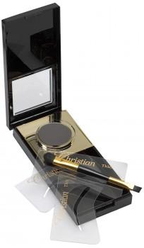 Semi permanente Augenbrauen-Makeup - black