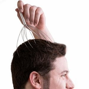 Kopfkrauler, Kopfmassage-Stab