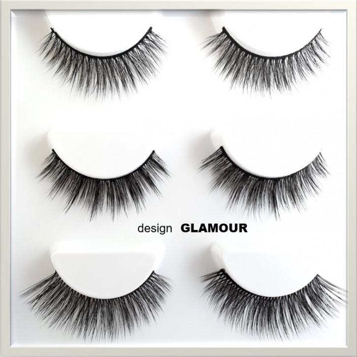 ❤ Magischer selbstklebender Eyeliner Set - kombiniert beides: Eyeliner und Wimpernkleber in einem Produkt- glamour
