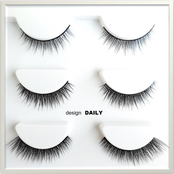 ❤ Magic Adhesive Eyeliner Set - kombiniert beides: Eyeliner und Wimpernkleber in einem Produkt- daily