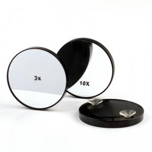 Vergrößerungs-Kosmetikspiegel mit Saugnäpfen, 3-, 5- pder 10-fache Vergrößerung