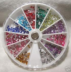 600 Kristall-/Strasssteine