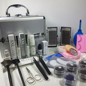 Hochwertiges XXL Lashes Design Kit, volle Ausstattung für Wimpernverlängerungen