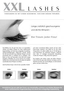 "100 Stk. Promotion Flyer A5 - ""Auge"" - deutsch"