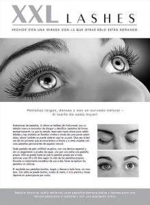 """100 Stk. Promotion Flyer A5 - """"Gesicht"""" - spanisch, mit eigener Adresse"""