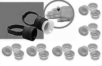 Adhesive Ring cups