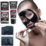 Sensinity schwarze Reinigungsmaske gegen Hautunreinheiten und Mitesser, 130 ml