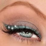 Glitter Eyeliner in grün