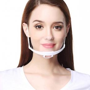 Plastik Visier, Gesichtsschild mit verstellbarem Gummiband
