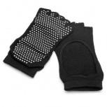 2 Paare Non slip Yoga-Socken, zehenfrei, mit Antirutsch-Sohle