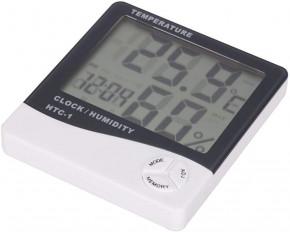 Digital Thermometer Hygrometer mit LCD Display Temperaturmesser Feuchtigkeitmessgerät