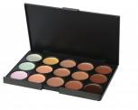 Hochwertige Concealer Palette mit 15 verschiedenen Farbtönen