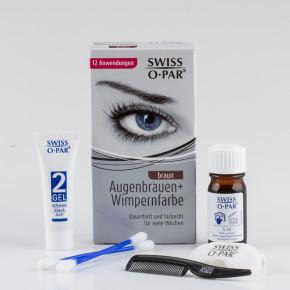 Augenbrauen- und Wimpern-Farbe