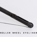 Innovativer Roller-Eyeliner, Pizzaroller Eyeliner, wasserfest, lang anhaltend, verwischt nicht