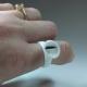 10 Doppelkammer Kleber-Ringe/ Pigmenthalter-Ringe
