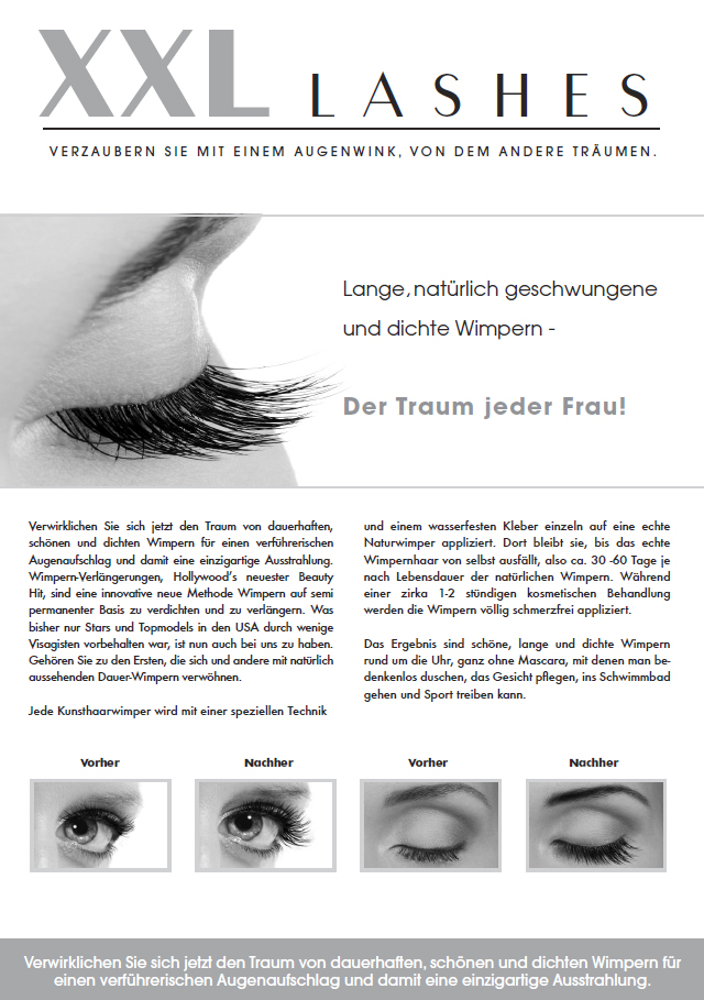 "100 Stk. Promotion Flyer A5 - ""Auge"""